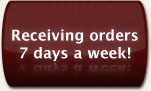 Receiving orders 7 days a week